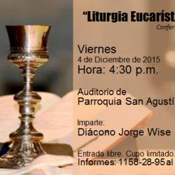 20151204 liturgia eucaristica